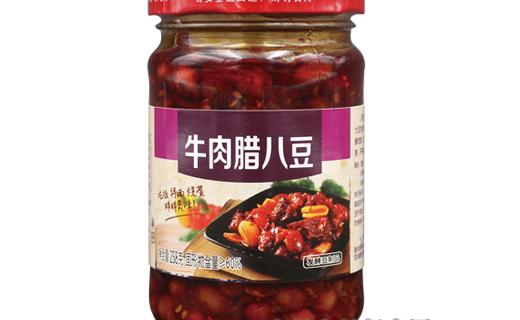 川湘大厨牛肉腊八豆258克