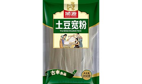 狮源-土豆宽粉200g