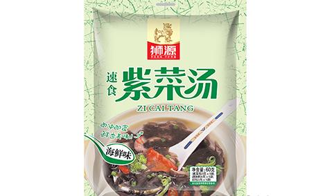 狮源-速食紫菜汤(海鲜味)60g