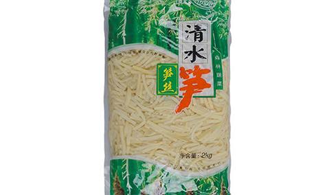 育农优品清水笋笋丝2kg