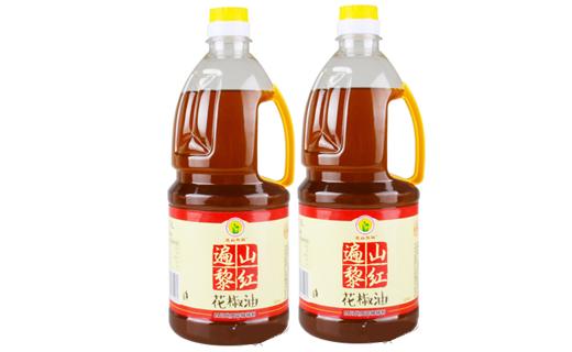 遍山黎红花椒油1.8L