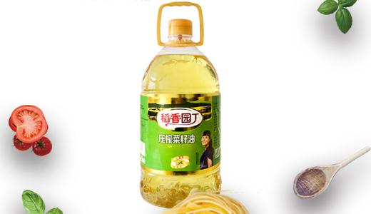 稻香园丁压榨菜籽油5L