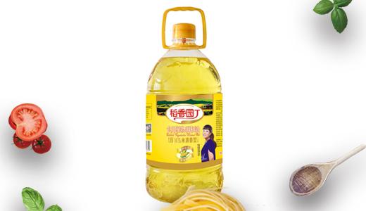 稻香园丁压榨玉米油5L