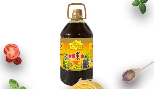 居家旺农家香菜油5L