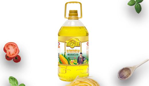居家旺压榨玉米油5L