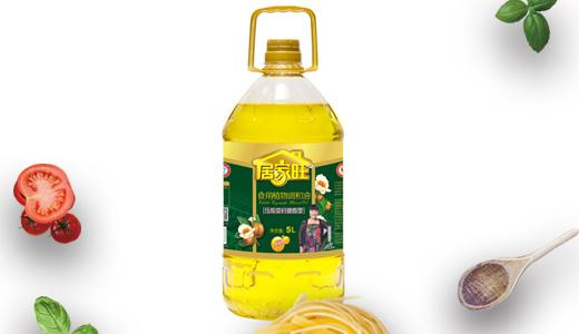 居家旺压榨茶籽油5L