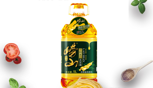 崂山非转基因大豆油5L