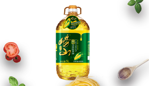 崂山压榨玉米胚芽油5L