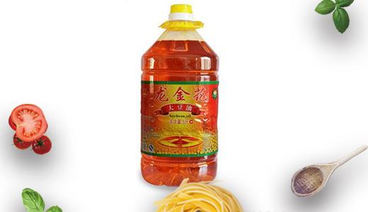龙金花鲜榨大豆油3.6L