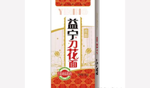 益宁刀花面(挂面)500g