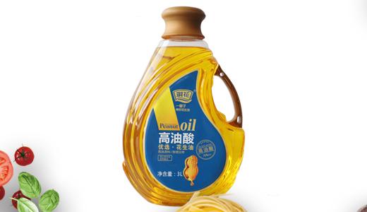 淇花高油酸优选花生油3L