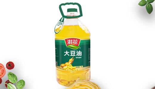 淇花非转基因大豆油5L