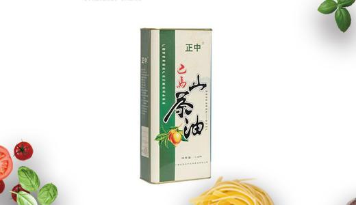 巴马山茶油1800mL铁罐装