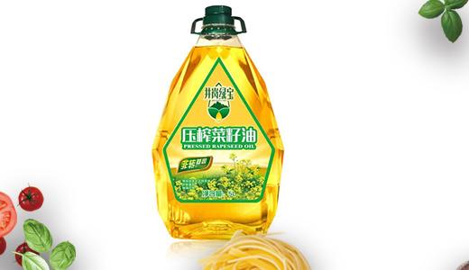 井冈绿宝压榨菜籽油5L