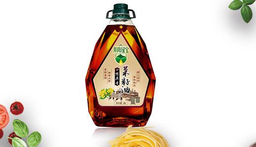 井冈绿宝浓香菜籽油5L