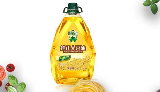 井冈绿宝-纯正大豆油5L