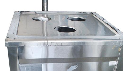 DZY500三孔燃气蒸包炉