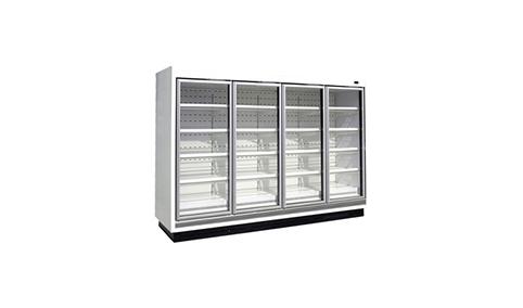 欧利柯立式玻璃门冷藏柜