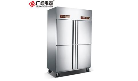 广绅商用厨房四门冷藏柜