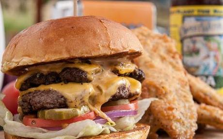 快麦汉堡快餐