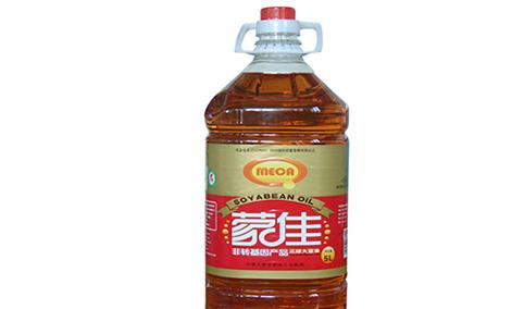 蒙佳三级大豆油5L
