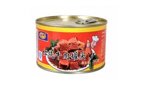 红烧牛肉罐头380g-盘典