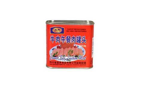 牛肉午餐罐头340克-盘典