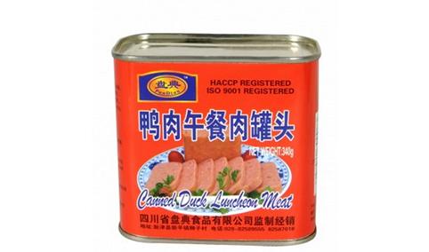 鸭肉午餐罐头340g-盘典