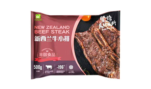 丰颐绿新西兰牛小排500g