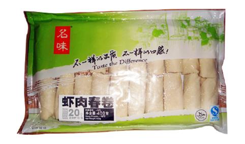 名味虾肉春卷400g