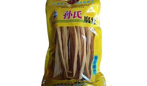 孙氏黄豆腐竹350克