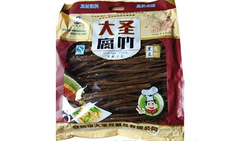 大圣腐竹-黑豆腐竹1000克