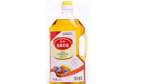 鼎和-冷榨亚麻籽油2.5L