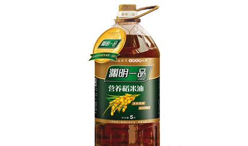渊明一品营养稻米油5L