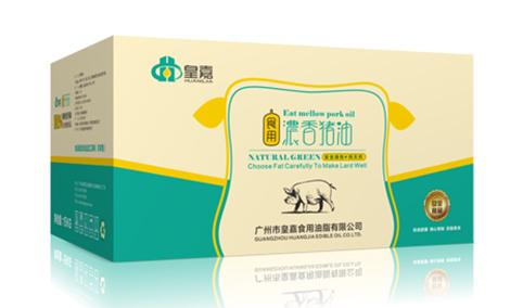 皇嘉食用浓香猪油15kg