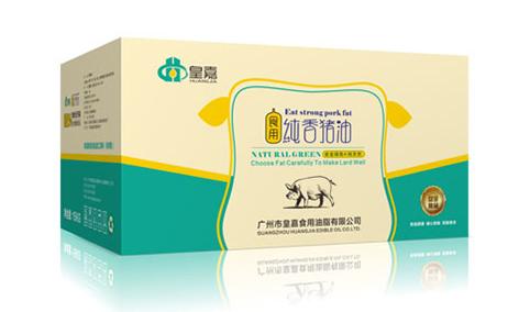 皇嘉食用纯香猪油15kg