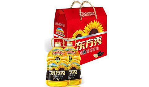 焙香黑葵花籽油礼盒2L