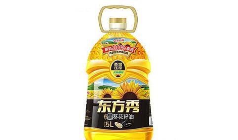 焙香黑葵花籽油5L