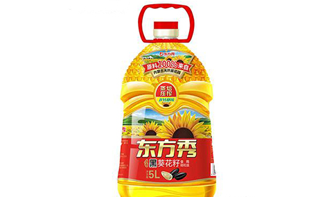 焙香黑葵花籽食用调和油5L