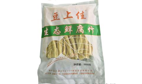 豆上佳生态鲜腐竹
