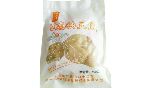 豆上佳生态油豆皮