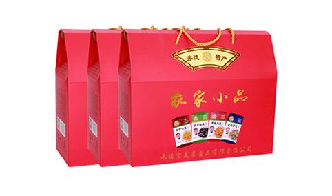 红山爽农家小品礼盒装(红)