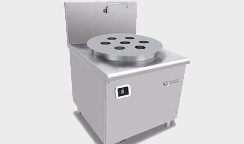 电磁单头蒸包炉