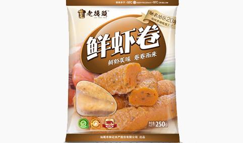 老德头鲜虾卷250g