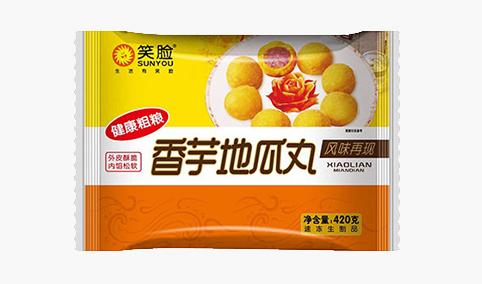 香芋地瓜丸420g-笑脸
