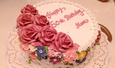 生日蛋糕培训