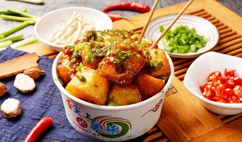 锅巴土豆培训