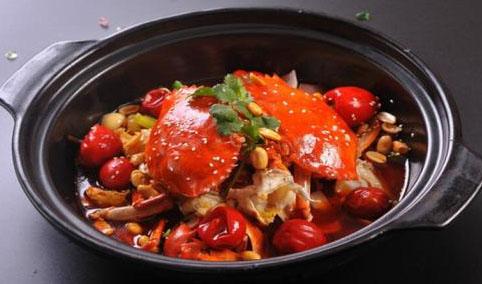 杭州食为先蟹肉煲培训