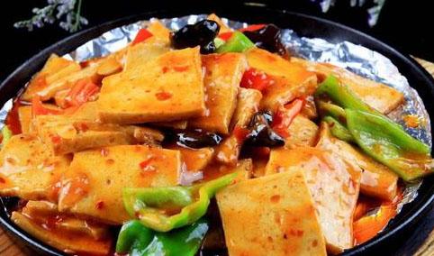 味百千铁板豆腐培训