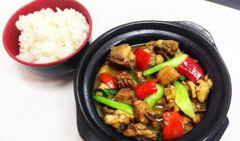 味佳美黄焖鸡米饭培训